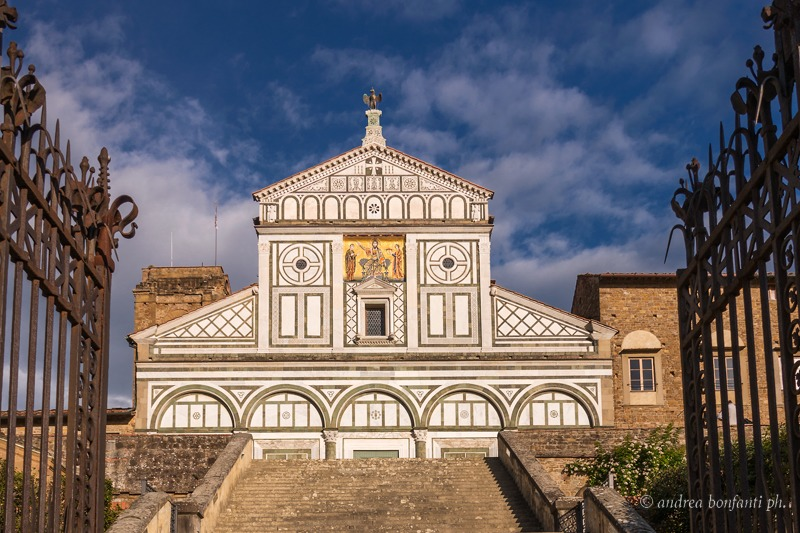 Your Guide in Tuscany - Guided tours with  isabelle - Andrea Bonfanti Photographer © -  Basilica of San Miniato  Florence