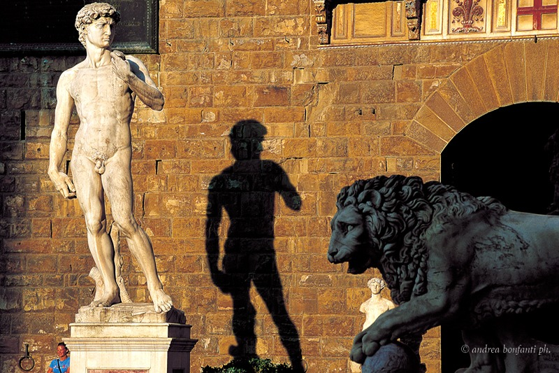Florence Guided Tour with Isabelle : Signoria Square and David © Andrea Bonfanti photographer