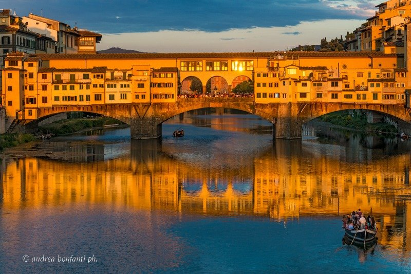 Guided Tour of Florence with Isabelle -Ponte Vecchio  Andrea Bonfanti Photographer ©