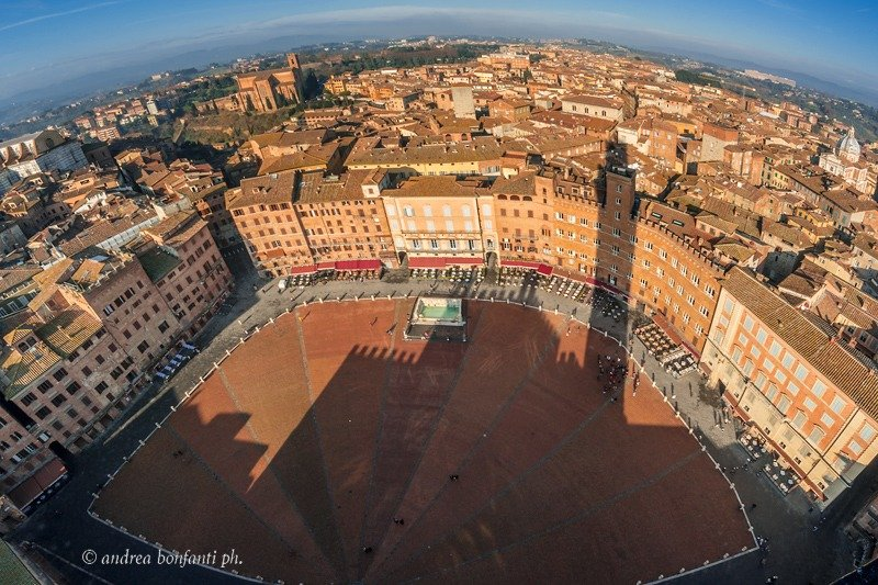 Guided Tour of SIena with Isabelle - Panoramic view from torre del mangia Andrea Bonfanti Photographer ©